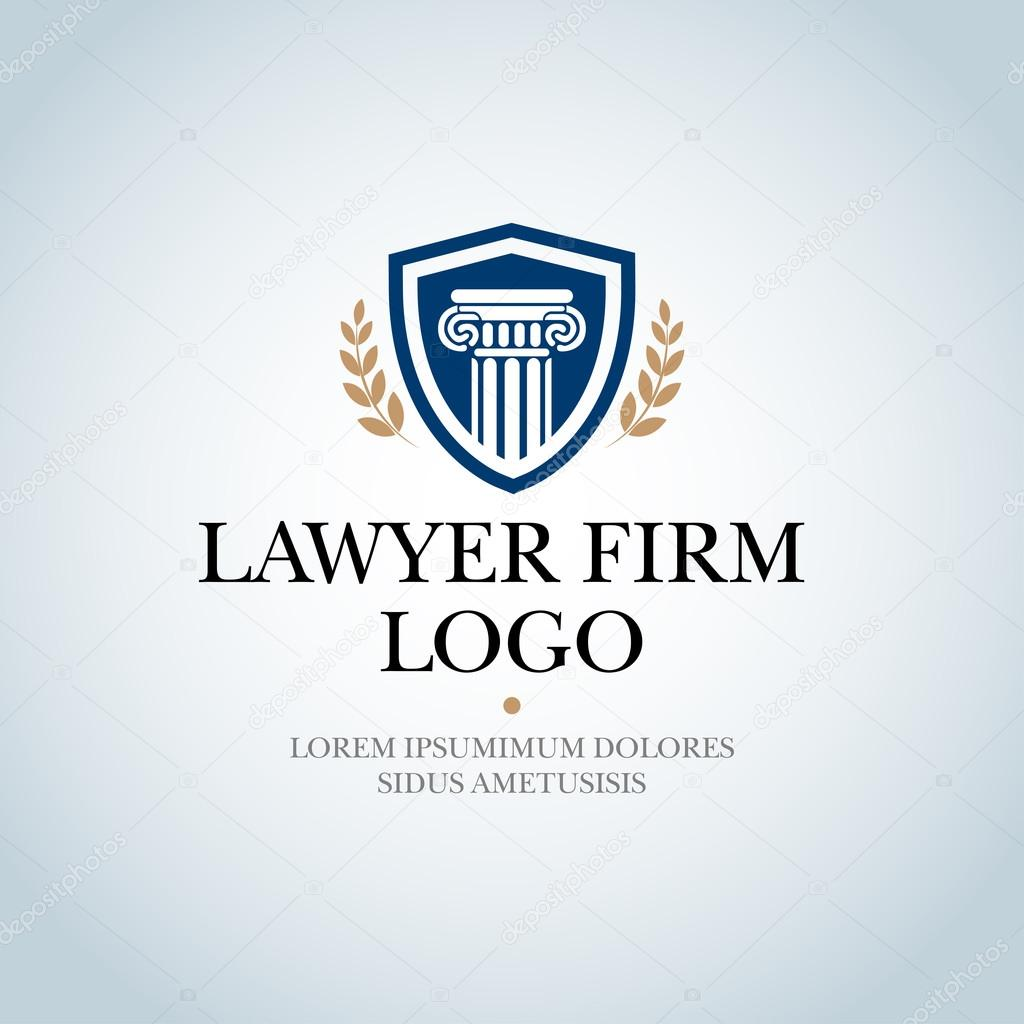 Law Firm Logo — Stock Vector © ideasign #112572982