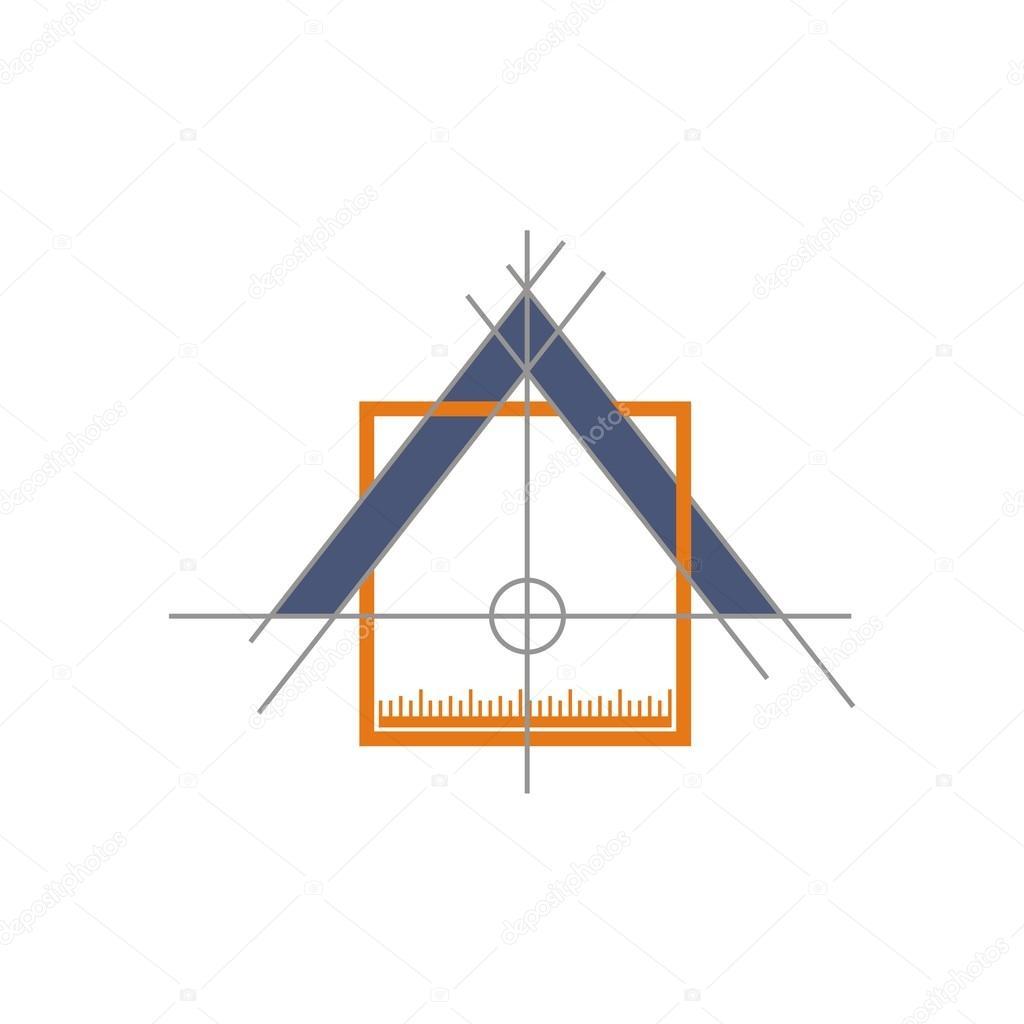 logo icon exterior home design vector — Stock Vector © Friendesigns ...