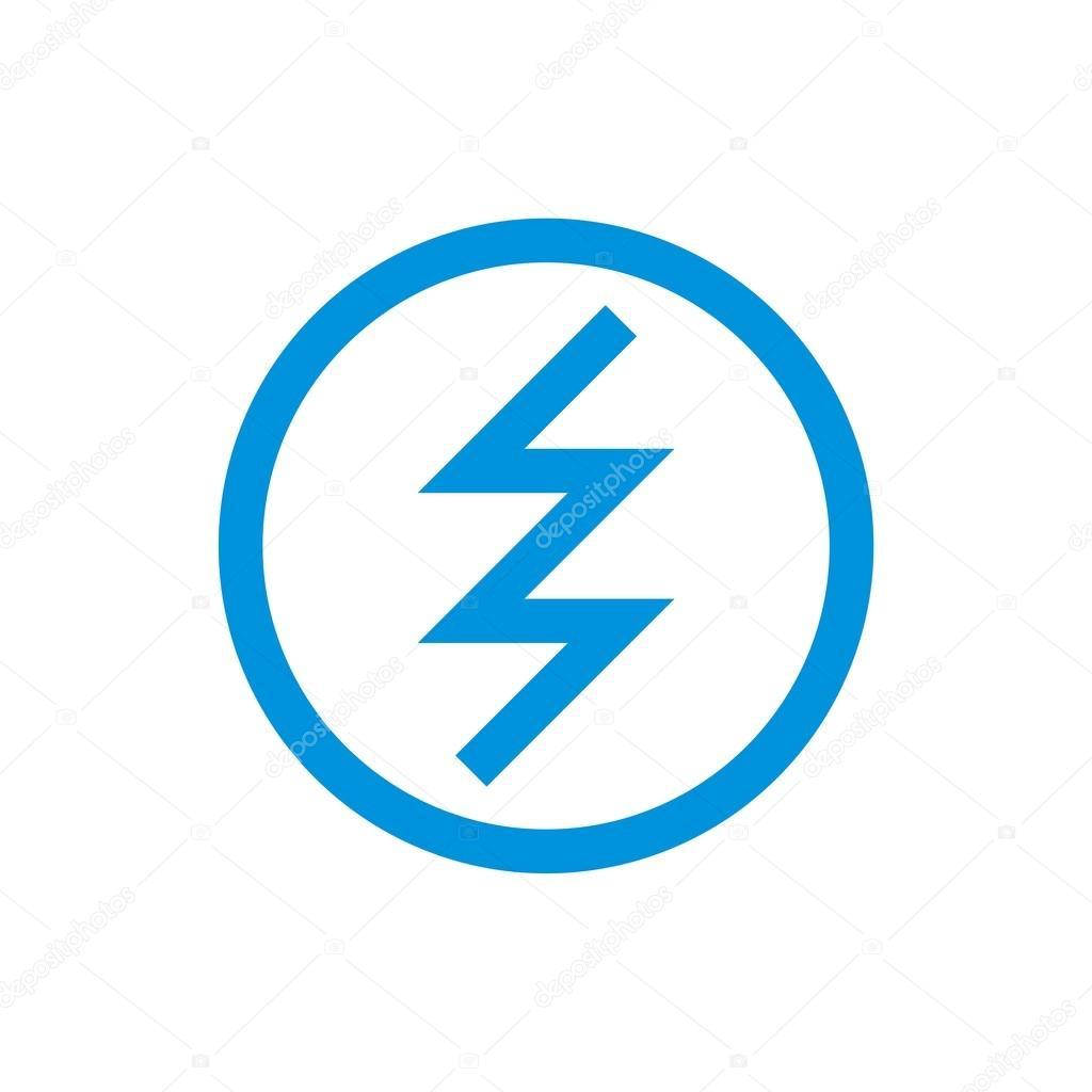 circle electric logo power volt — Stock Vector © Friendesigns #112661076