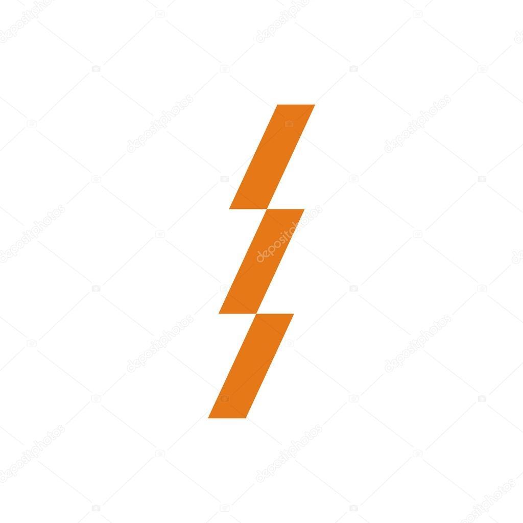 Symbol-Strom-Logo-Spannung — Stockvektor © Friendesigns #112661106