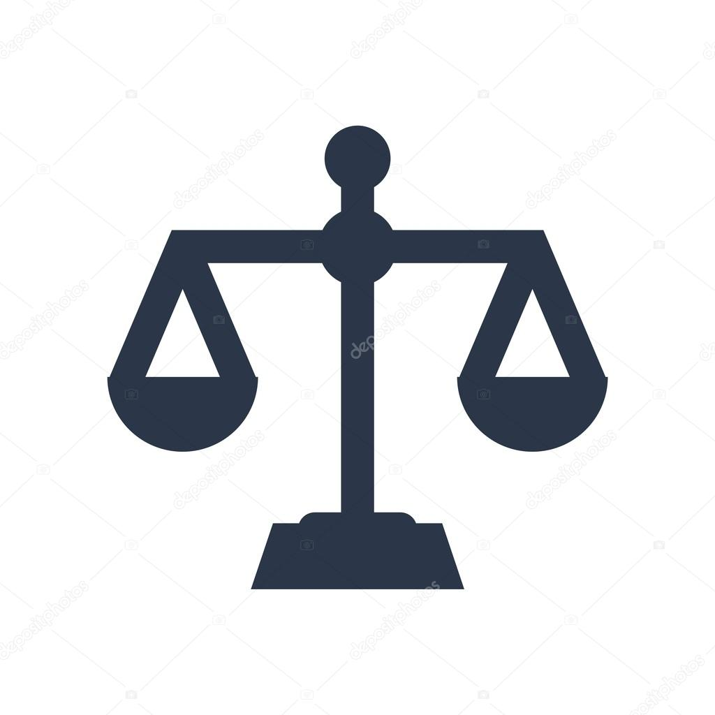 Law firm logo icon with vintage scale in balance symbol vector law firm logo icon with vintage scale in balance symbol vector stock vector biocorpaavc Images