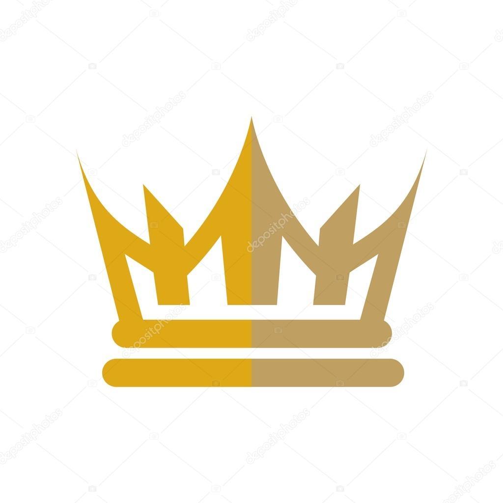 Cr ation de design logo couronne or gemmes royaume - Clipart couronne ...