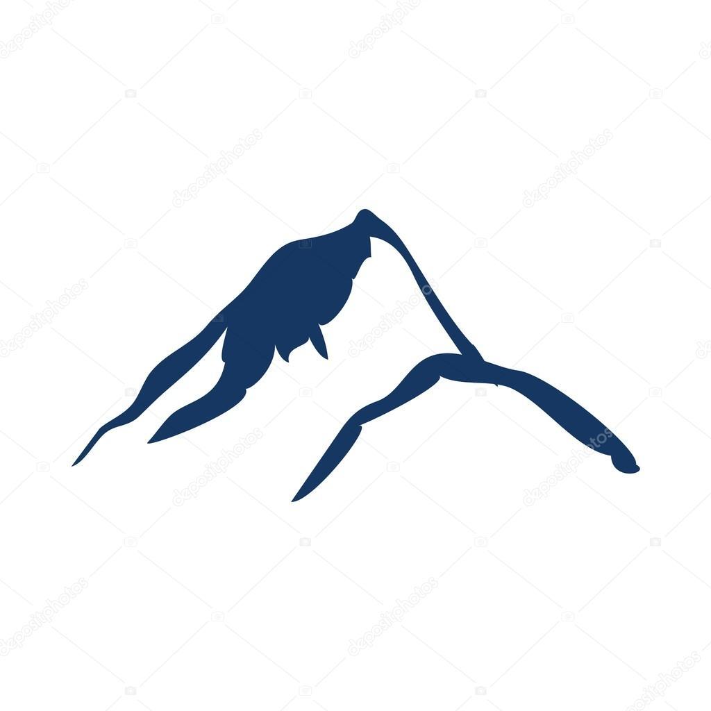 vecteur de conception de logo montagne image vectorielle friendesigns 118604094. Black Bedroom Furniture Sets. Home Design Ideas