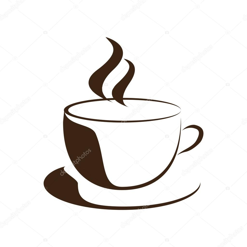 Kaffee-Logo Symbol Vektor — Stockvektor © Friendesigns #118727332