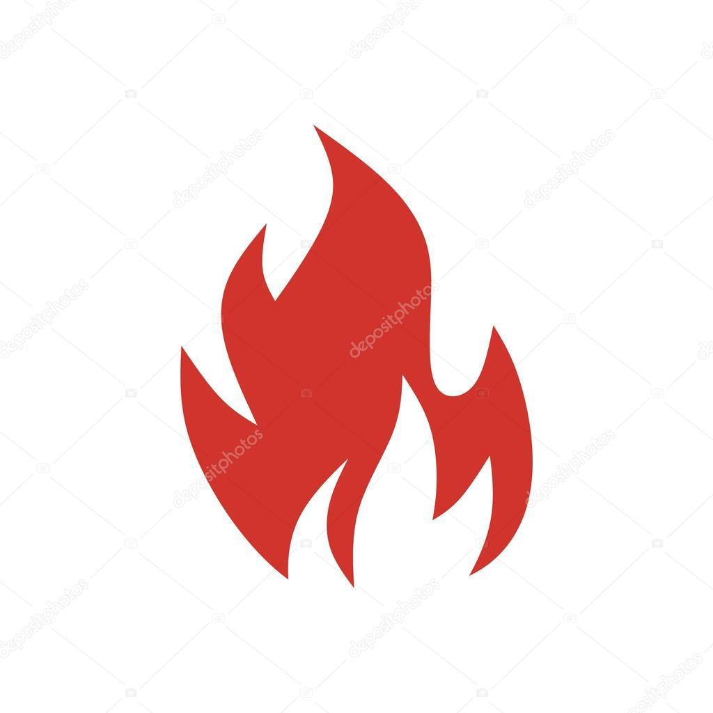 fire flame logo design vector � stock vector