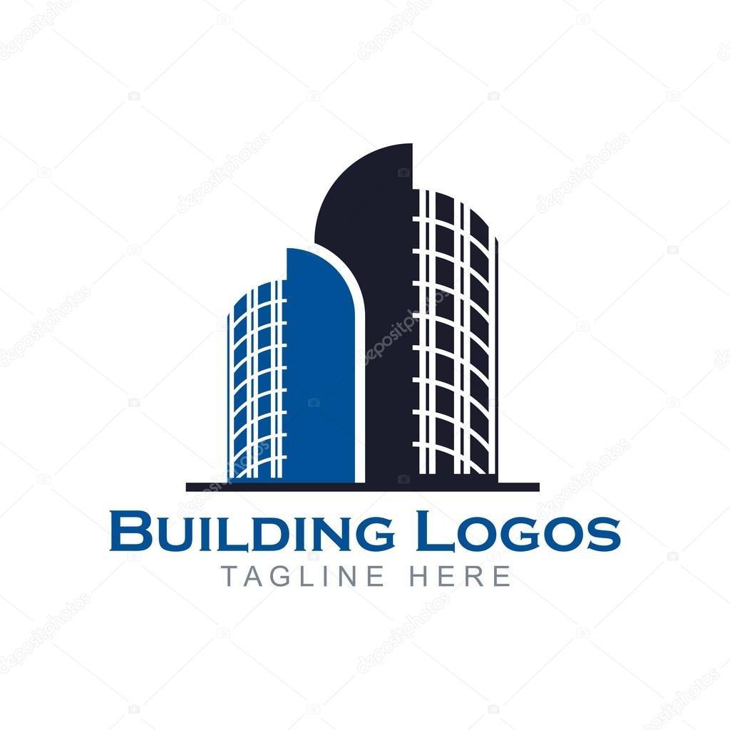 edificio insignia de apartamento de dise241o � vector de