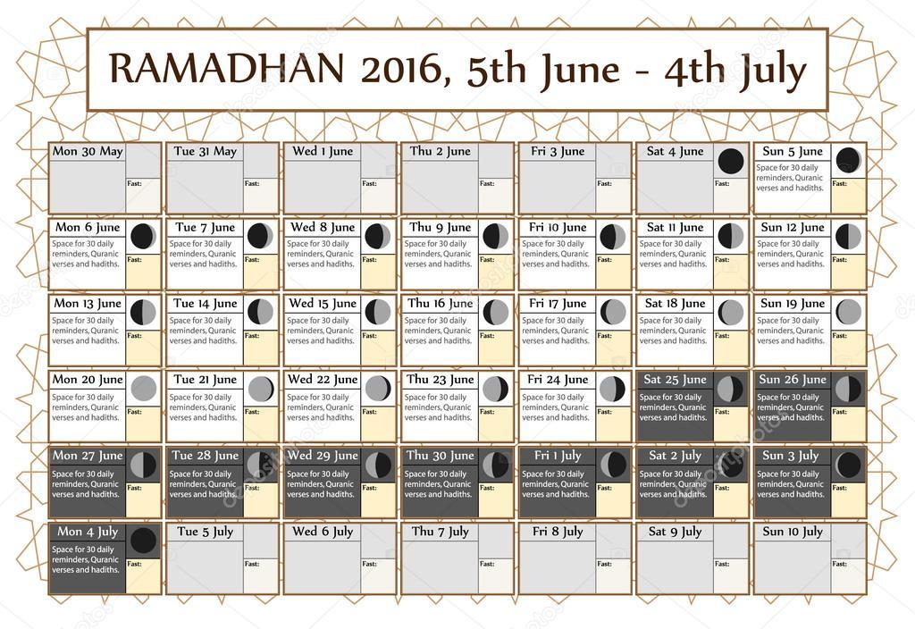Images: ramadan quotes quran   Ramadan calendar 2016