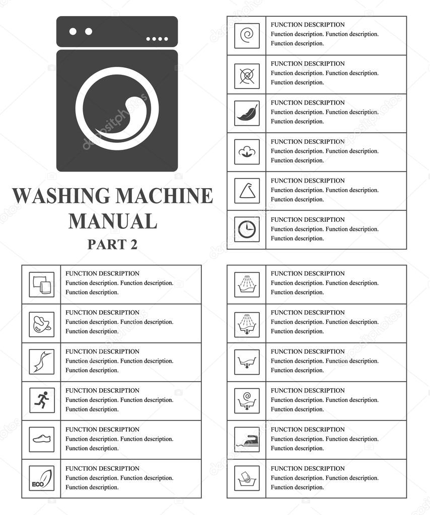 Oven Manual Symbols Part 2 Instructions Signs And Symbols For