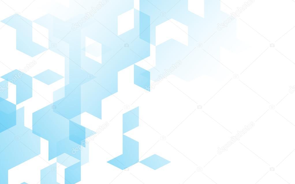 Cor De Plano De Fundo Azul Do Diamante Abstrata Caixa Quadrada