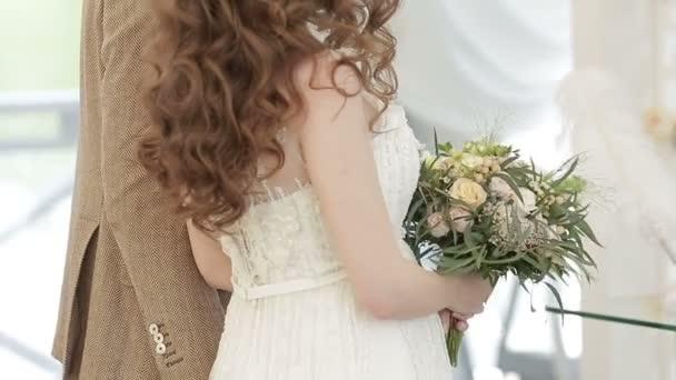 Menyasszony és a vőlegény közelről: esküvő