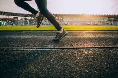 sprinter legs on the start
