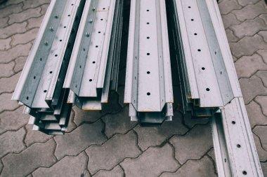 Steel metal profiles