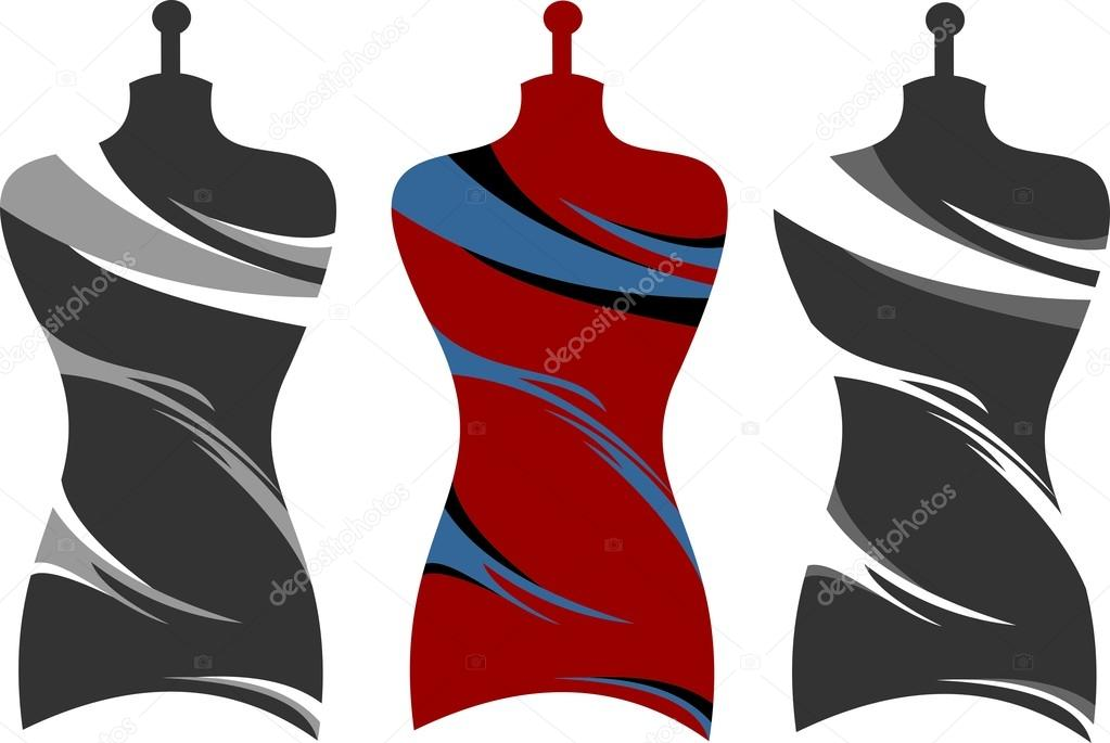 Ilustracin logo diseos ropa Archivo Imgenes Vectoriales