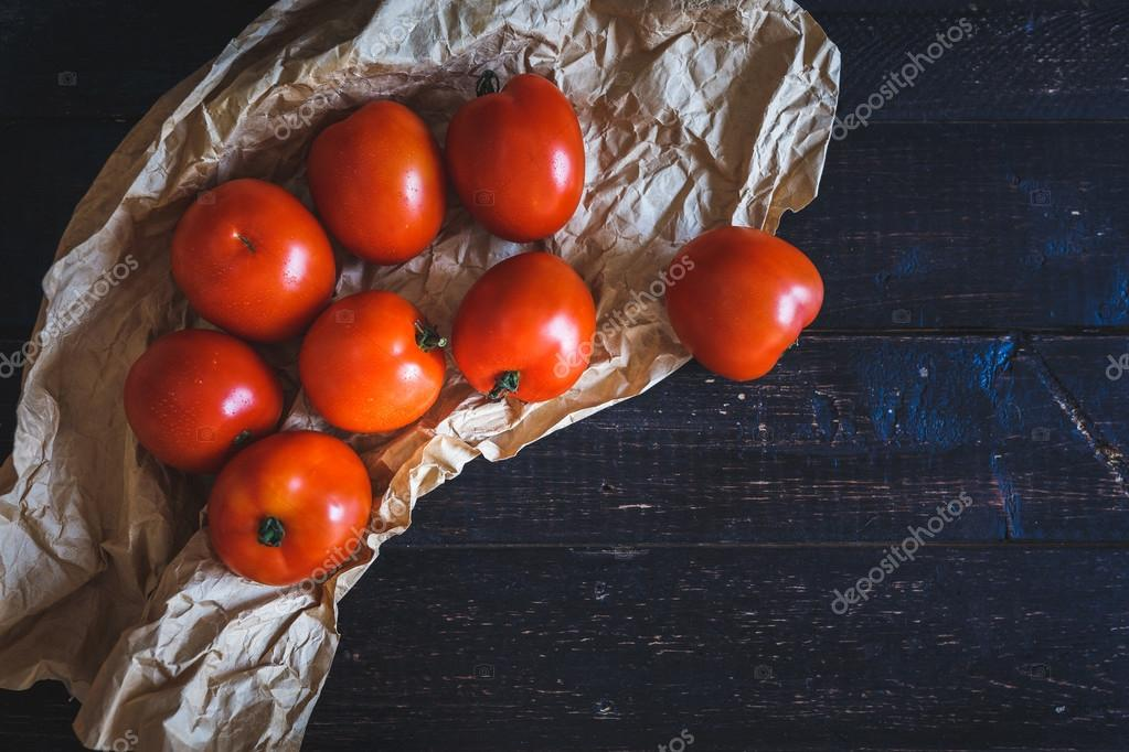 Red tomatoes group