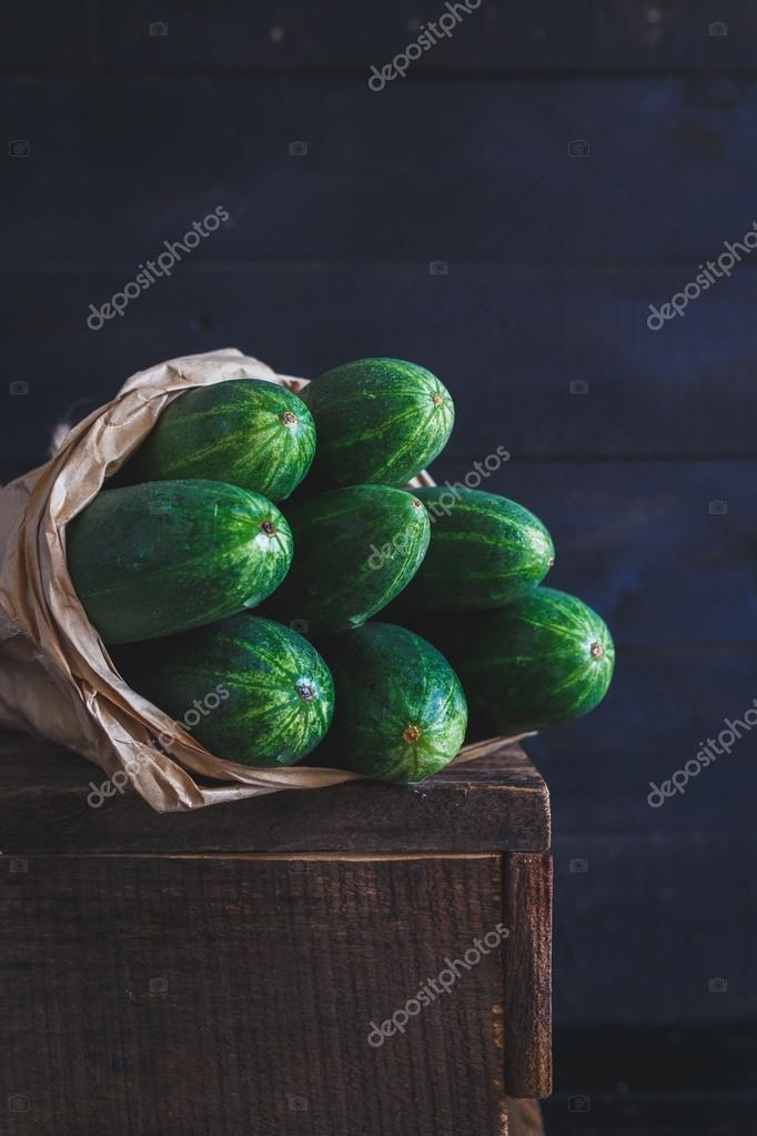 Green Cucumbers group