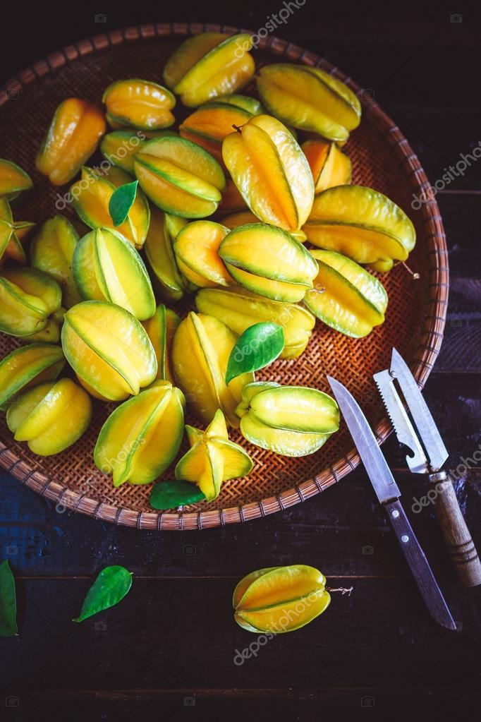 Yellow Star fruits