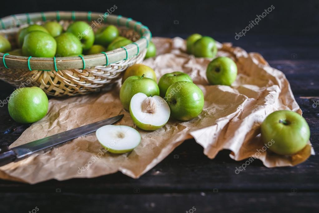 Green Apples-Vietnamese apple