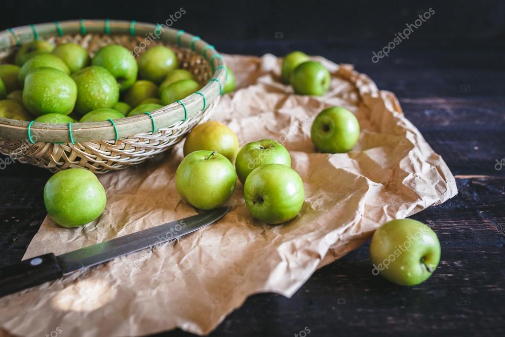 Green Apples-Vietnamese apple