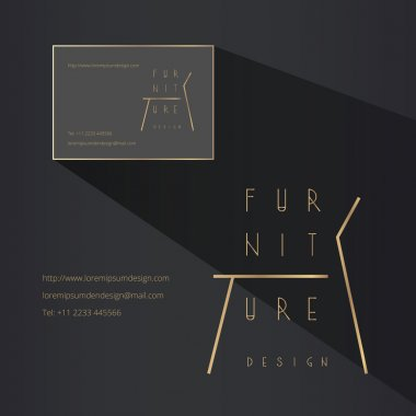 furniture and designer chairs model