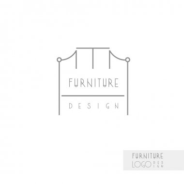 furniture design and chair model