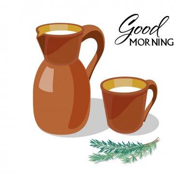 'Good Morning' poster.