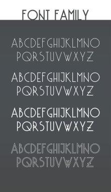 latin alphabet letters