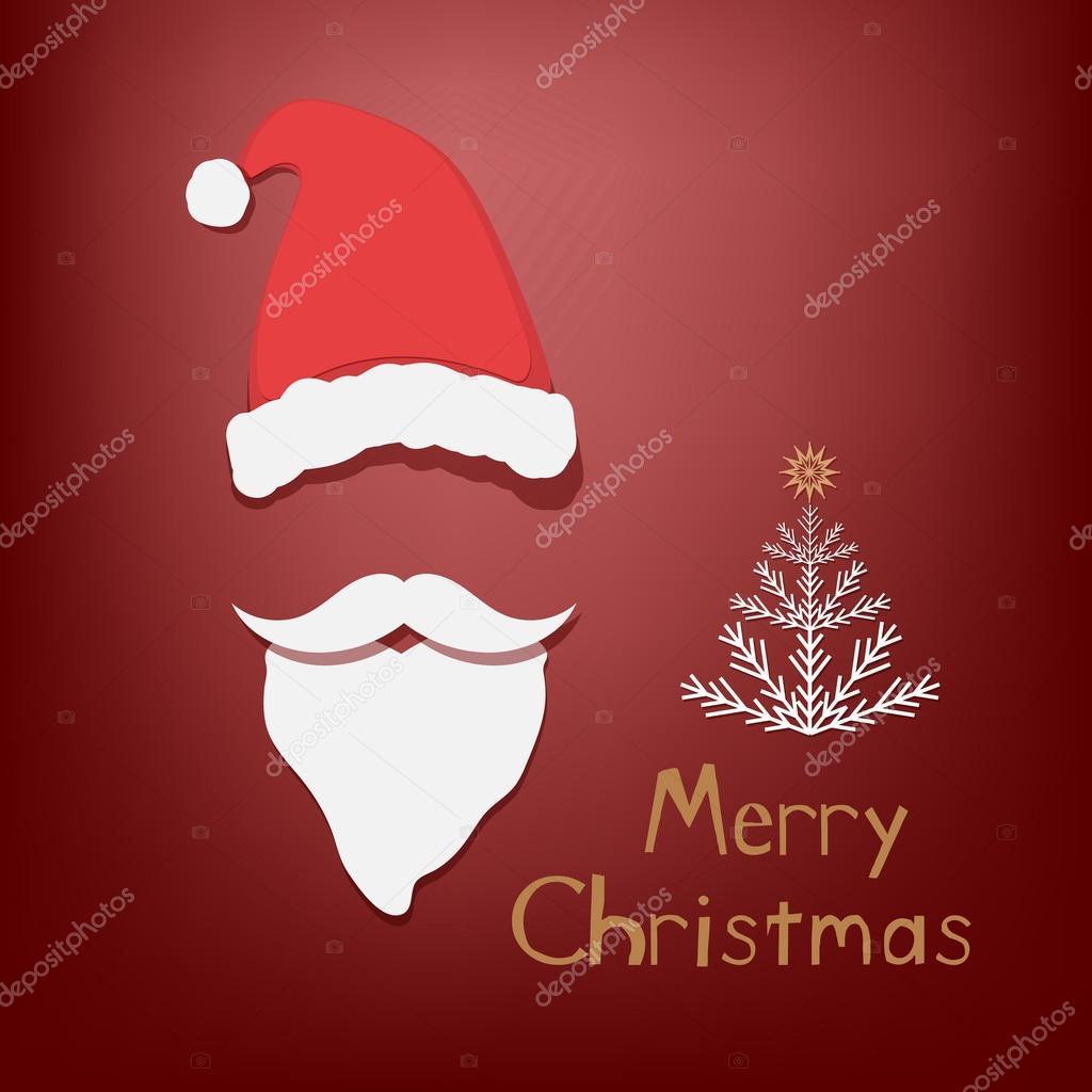 Auguri Di Buon Natale Yahoo.Insieme Di Attributi Di Babbo Natale Vettoriali Stock C Tekla