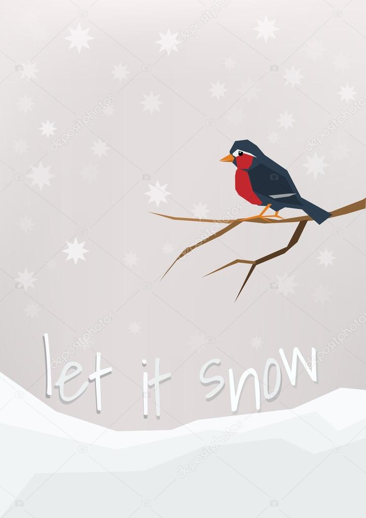 'Let it snow' - winter holidays
