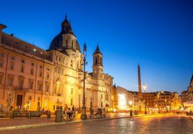 Rome Piazza Navona square