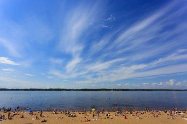 Presentation of Samara - the cities of host world Cup 2018, beach holidays