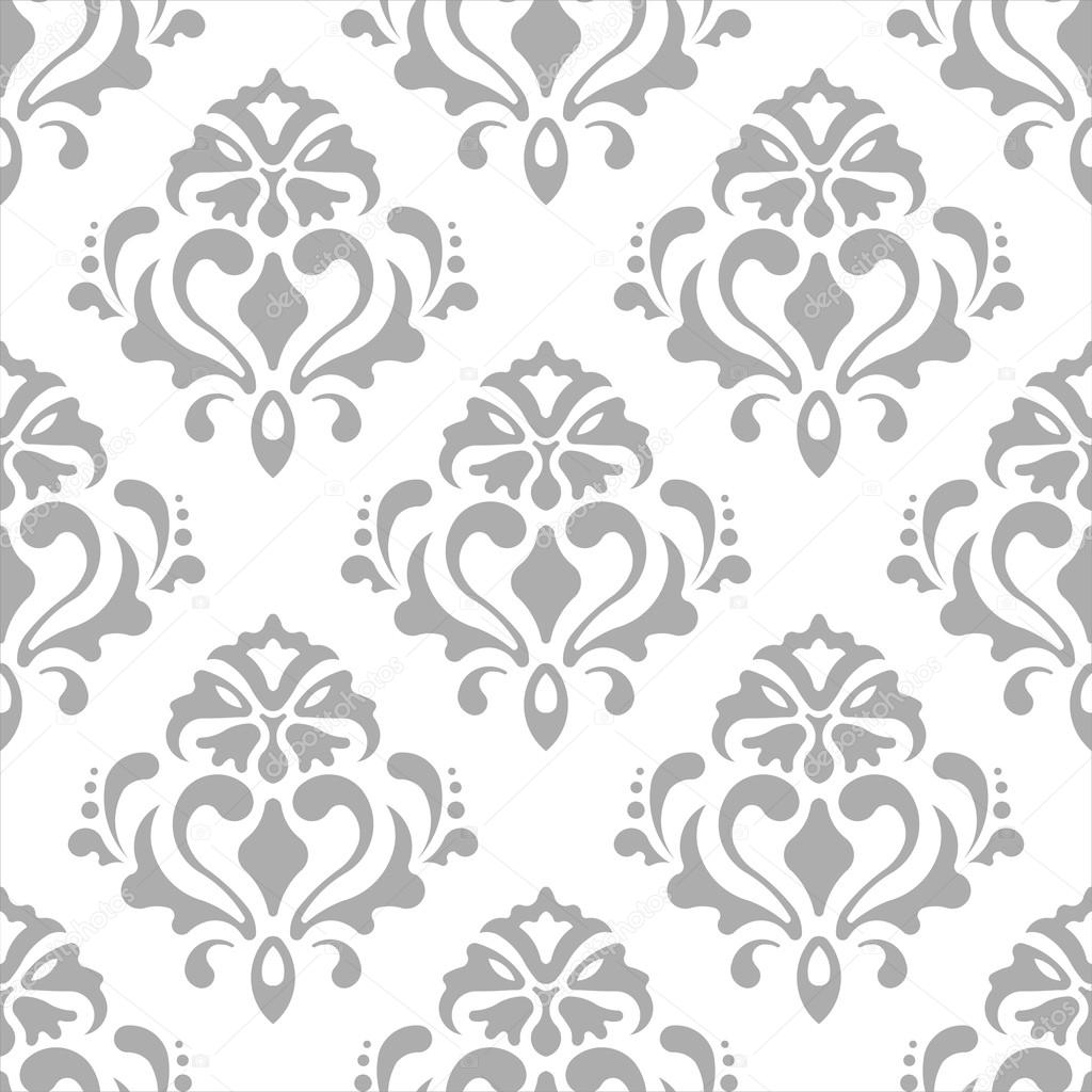 Classic Wallpaper Background White Grey Color/Classic