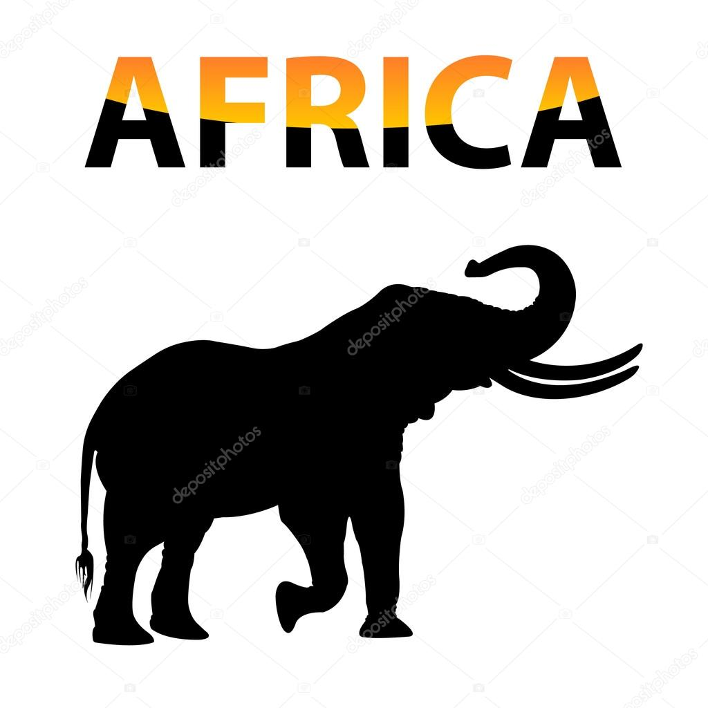 Нем, картинка с надписью африка
