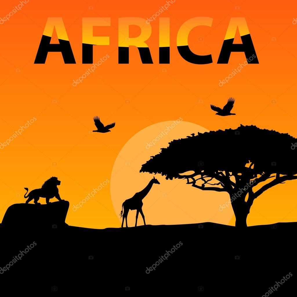 остальные картинка с надписью африка забавные машинки