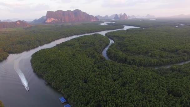 légi felvételek a Phang Nga-öbölben