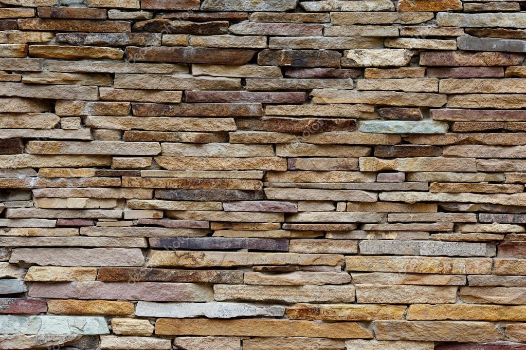 Wall of decorative stone — Stock Photo © Roma.EX #113060846