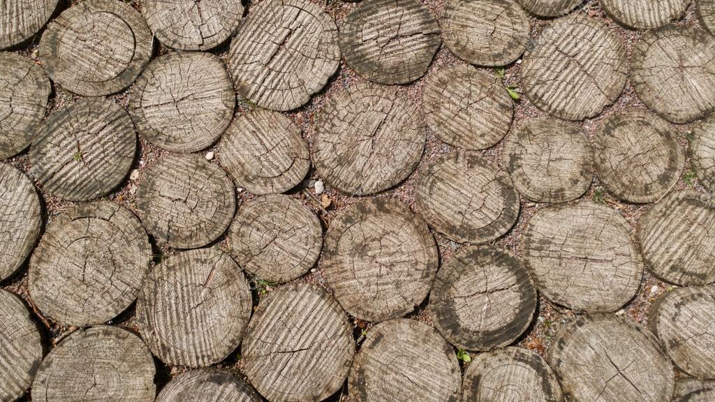 Vecchio fondo di legno di mosaico o texture — Foto Stock © Mangetsu ...
