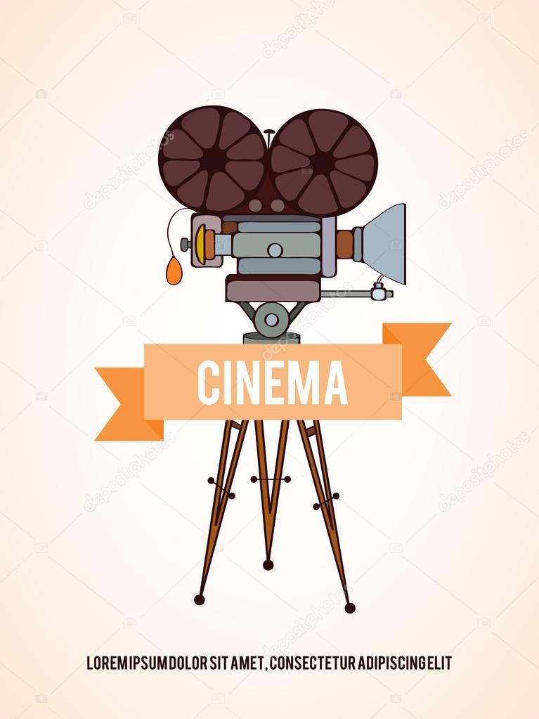 Cinema invitation card stock vector mespilia 115103480 cinema invitation card stock vector stopboris Gallery