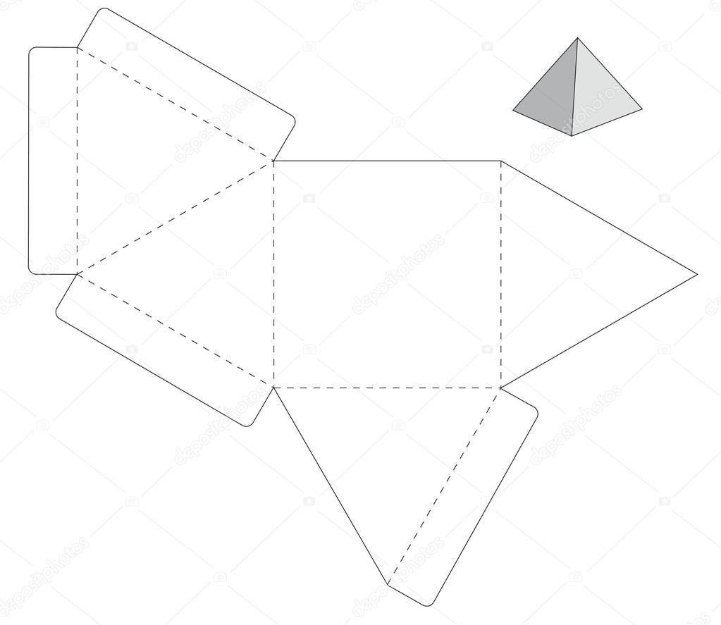 triangle packaging template - perfecto caja plegable plantilla colecci n colecci n de