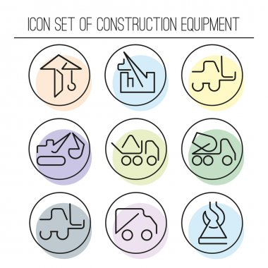 Collection of construction machinery