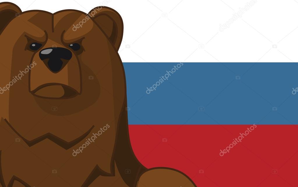 стыдно картинки русский медведь на фоне флага россии его
