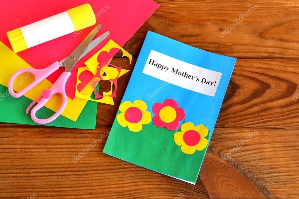 Tarjetas Para Las Madres Hechas Por Ninos Felicitacion Dia De Las - Manualidades-hechas-por-nios