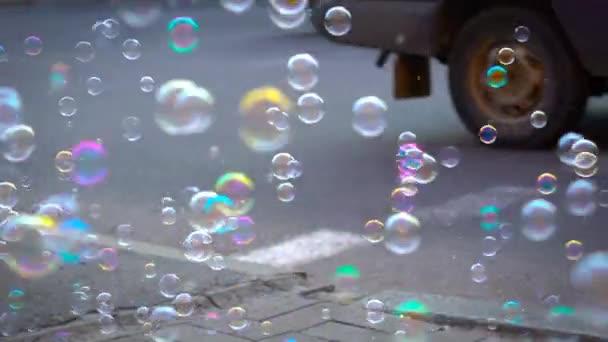 Mýdlové bubliny v reálném čase Dof