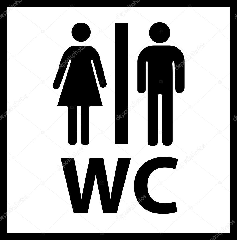 icono de wc vector icono de wc icono de wc eps imagen de icono de wc icono de wc simple. Black Bedroom Furniture Sets. Home Design Ideas
