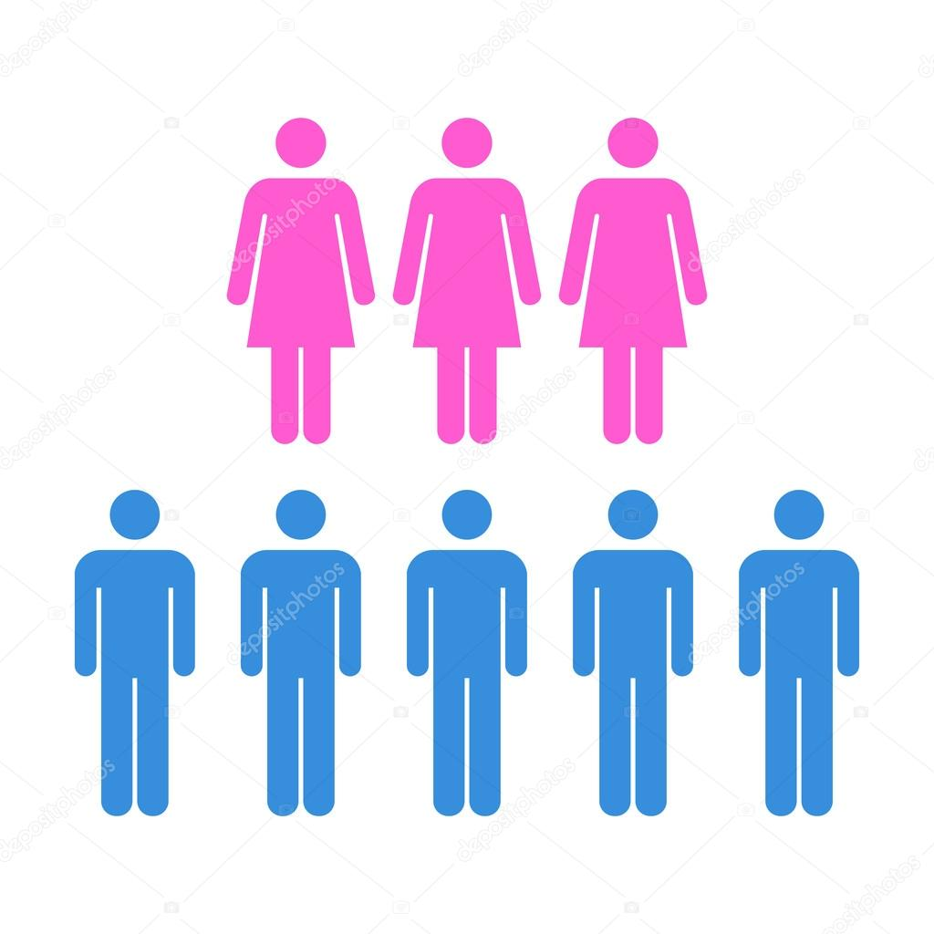 Crowd Of Indian Women Vector Avatars Stock Vector: Men, Women, Population, Team, Group, Crowd