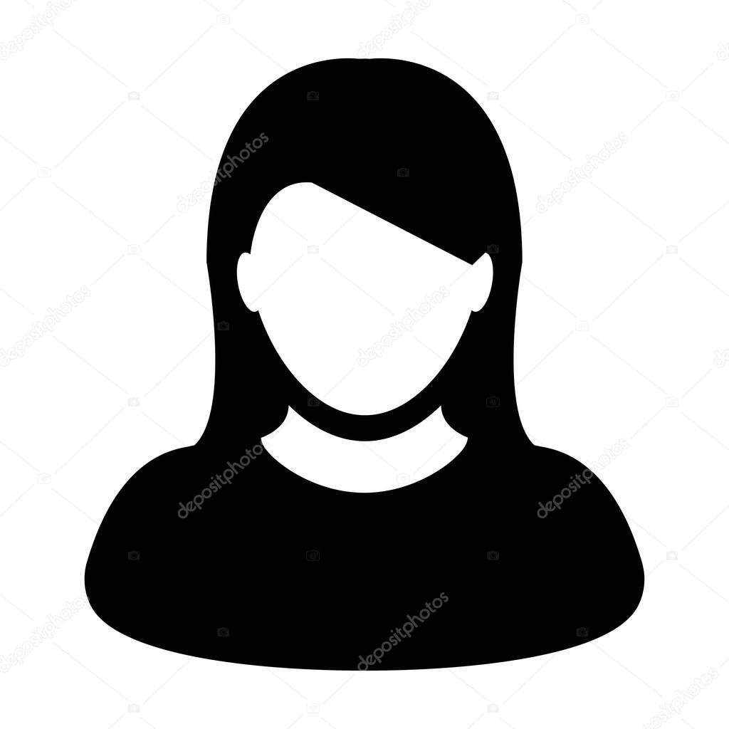 Icono Del Usuario Icono - Mujer
