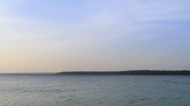 Clear Lake bei Sonnenuntergang