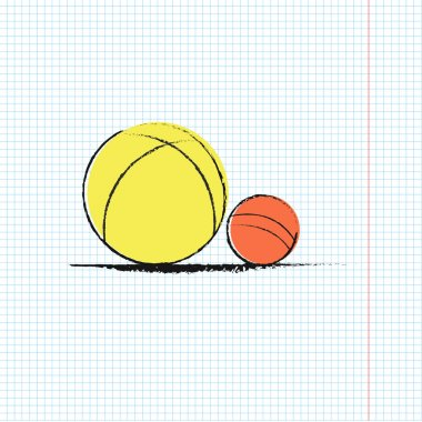 Two balls isolated