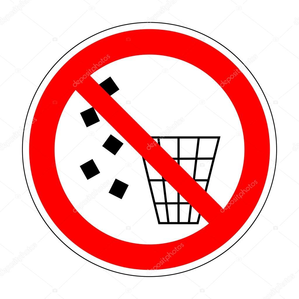 Sign No Littering 2204 Ksushanka 114084150