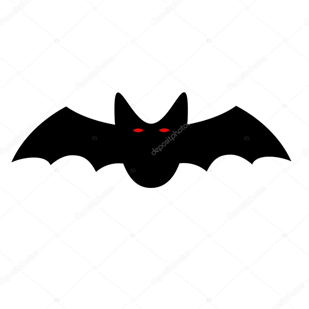 Morcego halloween assinar 1 09 vetores de stock for Chauve souris d halloween