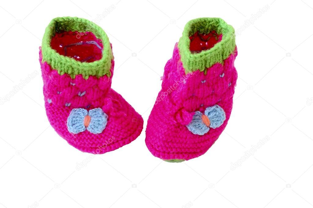 new product 04f0f d823d Scarpine babbucce per neonato — Foto Stock © zaborgomel@mail ...